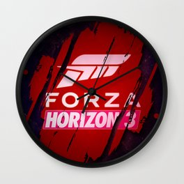 Forza Horizon 3 Wall Clock
