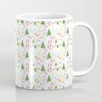 hiking Mugs featuring Hiking by S. Vaeth