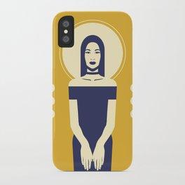 Phaedra Yellow iPhone Case