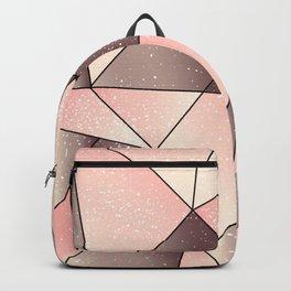 Pink tape art Backpack