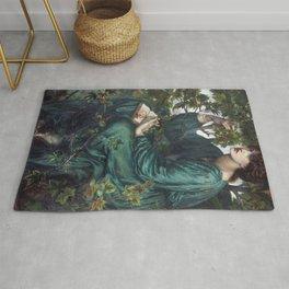 Dante Gabriel Rossetti - The Day Dream Rug