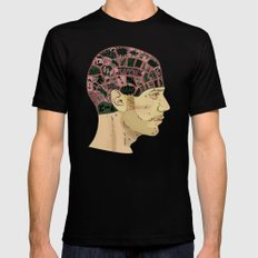 PHRENOLOGY Mens Fitted Tee MEDIUM Black
