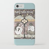 cannabis iPhone & iPod Cases featuring Cannabis, Art Deco by Susan Szecsi