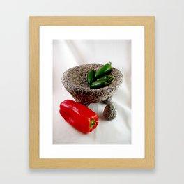 Mexican mortar Framed Art Print