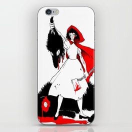 Little Red Riding Hood [2] iPhone Skin