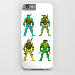 Superhero Butts - Turtles iPhone Case