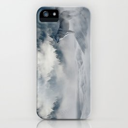 Wolves loup 2 iPhone Case