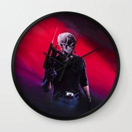 Cobra Skeleton Wall Clock