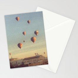 Cappadocian Hot Air Balloons Stationery Cards