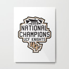 The Real Champions Metal Print