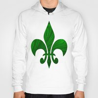 renaissance Hoodies featuring Renaissance Green by Charma Rose