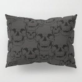 Dark Skulls Pillow Sham
