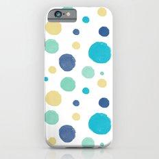 Bright Paint Dots iPhone 6s Slim Case