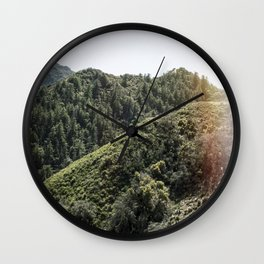 Up on the Mountain Top Wall Clock