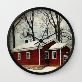 Grahamsville Schoolhouse Wall Clock