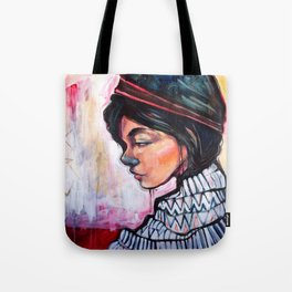 Blue Nose Tote Bag
