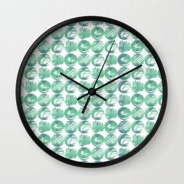 GeoPattern 03 Wall Clock