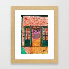 Donald Judd artillery Shed Framed Art Print