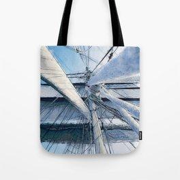Nautical Sailing Adventure Tote Bag