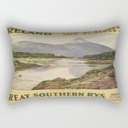 Vintage poster - Ireland Rectangular Pillow