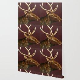 Big Bull Elk Profile Wallpaper