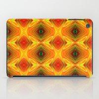 orange pattern iPad Cases featuring Orange Pattern by Art-Motiva