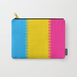 pixel pride- pansexual pride flag Carry-All Pouch