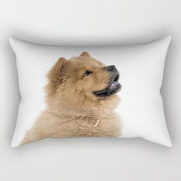 Chow Chow profile Rectangular Pillow