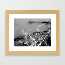 Go Ahead and See Framed Art Print