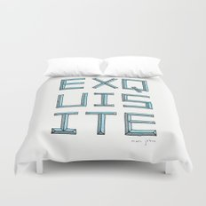 EXQUISITE Duvet Cover