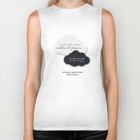 the fault Biker Tanks featuring The Fault in Our Stars by thatfandomshop