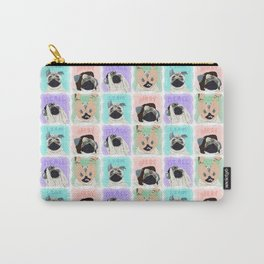Pug Direction Carry-All Pouch