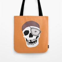 the goonies Tote Bags featuring Goonies by B. Hopt