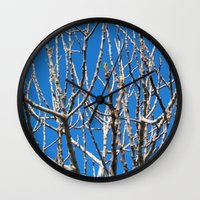 fig Wall Clocks featuring Fig by aeolia