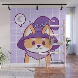 Witch Doggo Wall Mural
