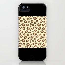 Leopard Leopard Pattern Deco Gift Idea iPhone Case
