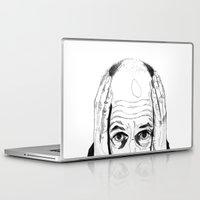 dad Laptop & iPad Skins featuring Dad by Giorgia Ruggeri