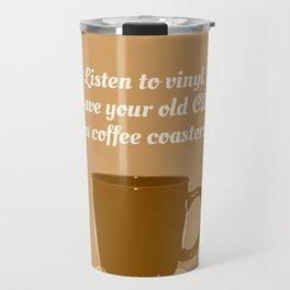 Coffee Coasters — Music Snob Tip #184 Travel Mug