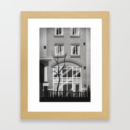 Places I've Lived Series - 11 Framed Art Print
