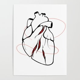 BlueHeart - Anxiety Poster