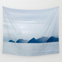 Mountains in the Mist Wall Tapestry