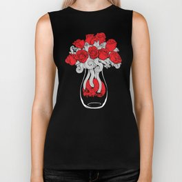 Death & Roses Biker Tank
