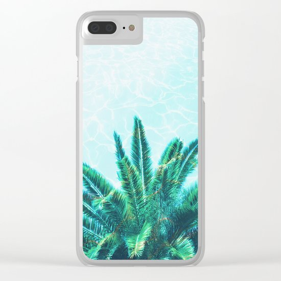 Palm Chill! Clear iPhone Case