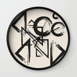abstract drawing Wall Clock