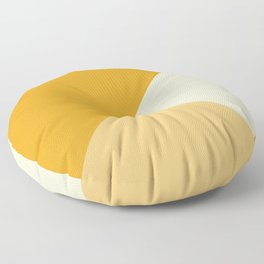 Mustard Tones Floor Pillow