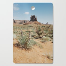Blooming Southwest Desert Yucca Cutting Board