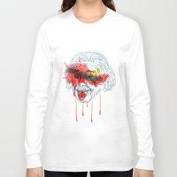 einstein Long Sleeve T-shirts featuring Einstein by Alan fe