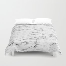 Real Marble Duvet Cover