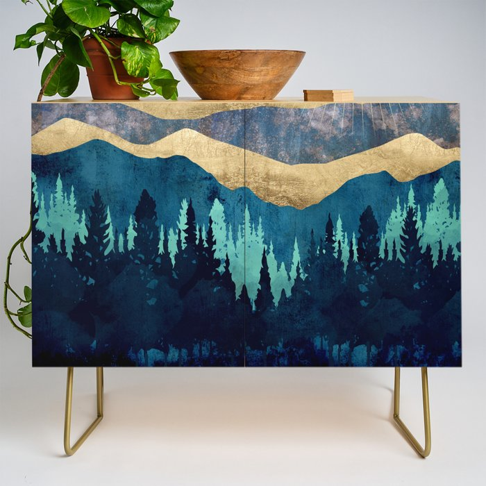 Blue Forest Credenza