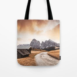seiser alm in south tyrol Tote Bag